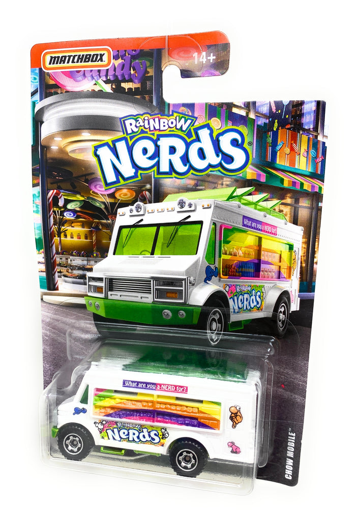 Matchbox Rainbow Nerds from the 2018 Candy Set