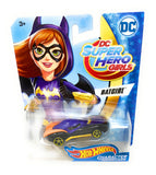 Hot Wheels Batgirl from the 2016 DC Super Hero Girls set