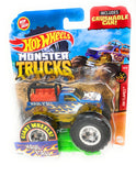 Hot Wheels Monster Truck 2020 Haul Y'all Giant Wheels with Crushable Car 49/75 4/5 HW Flames