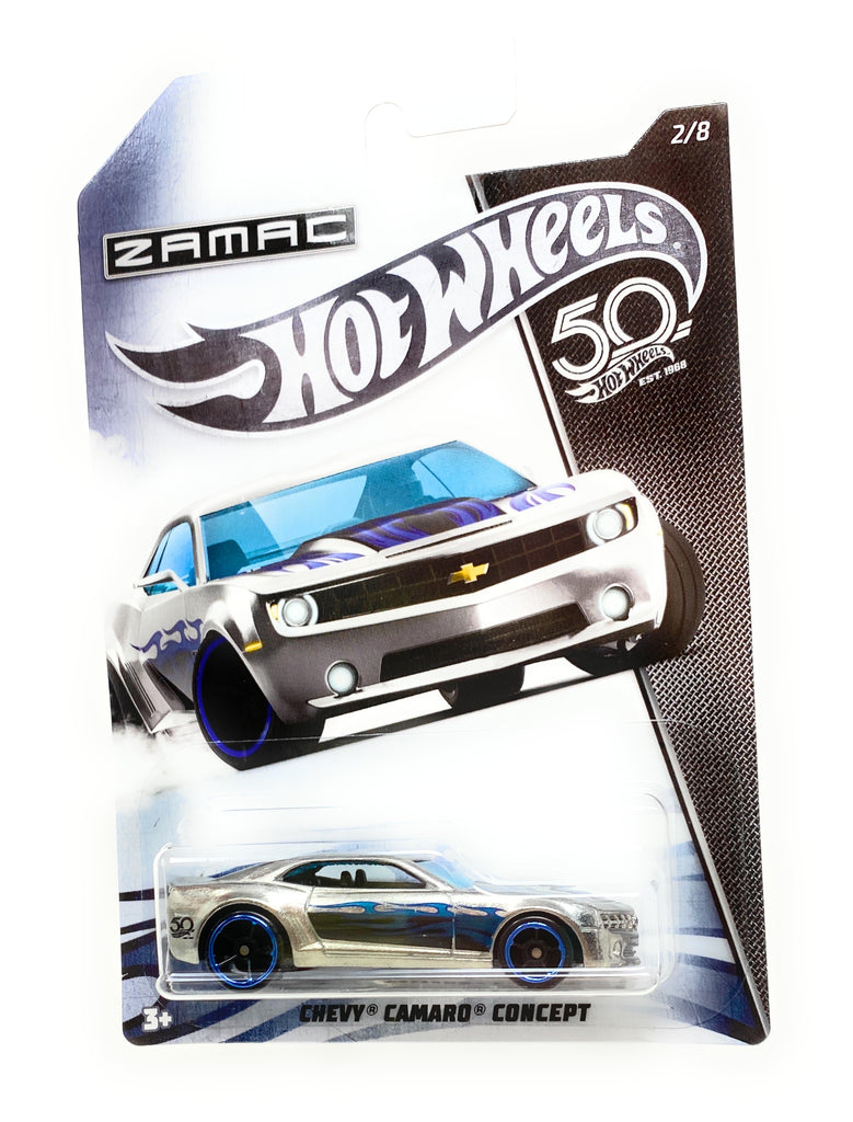 Hot Wheels Chevy Camaro Concept from Zamac Set 2/8
