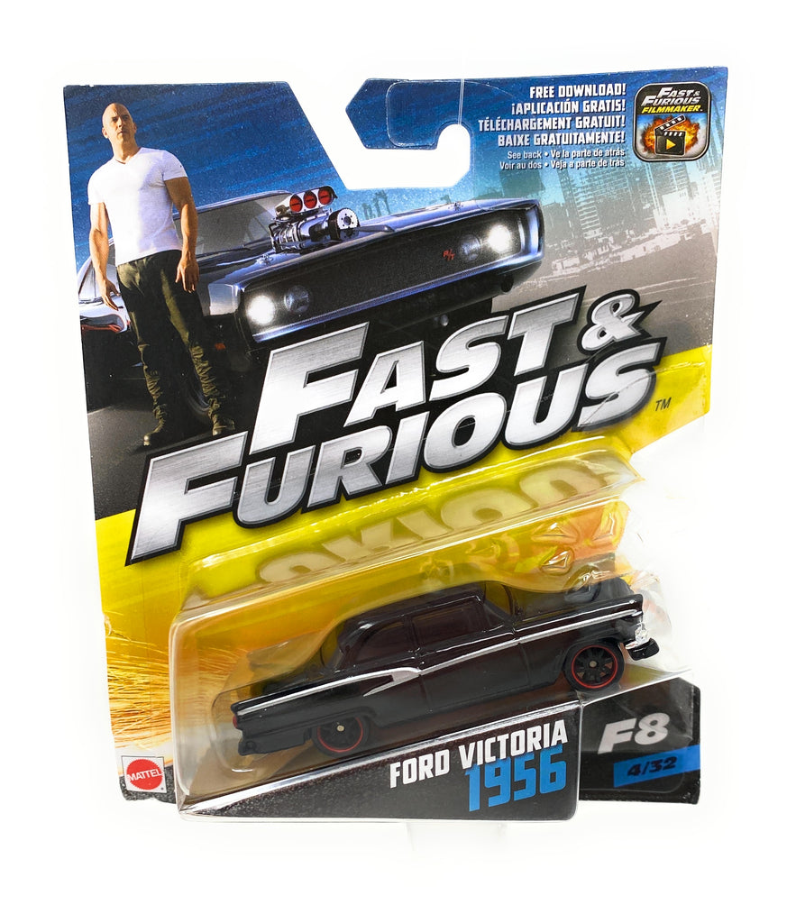 Hot Wheels 1956 Ford VIctoria Car from the Fast and Furious set 4/32
