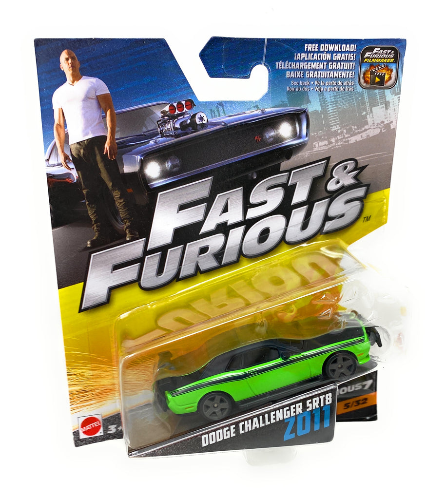 Hot Wheels 2011 Dodge Challenger SRT8 from the Fast and Furious set 5/32