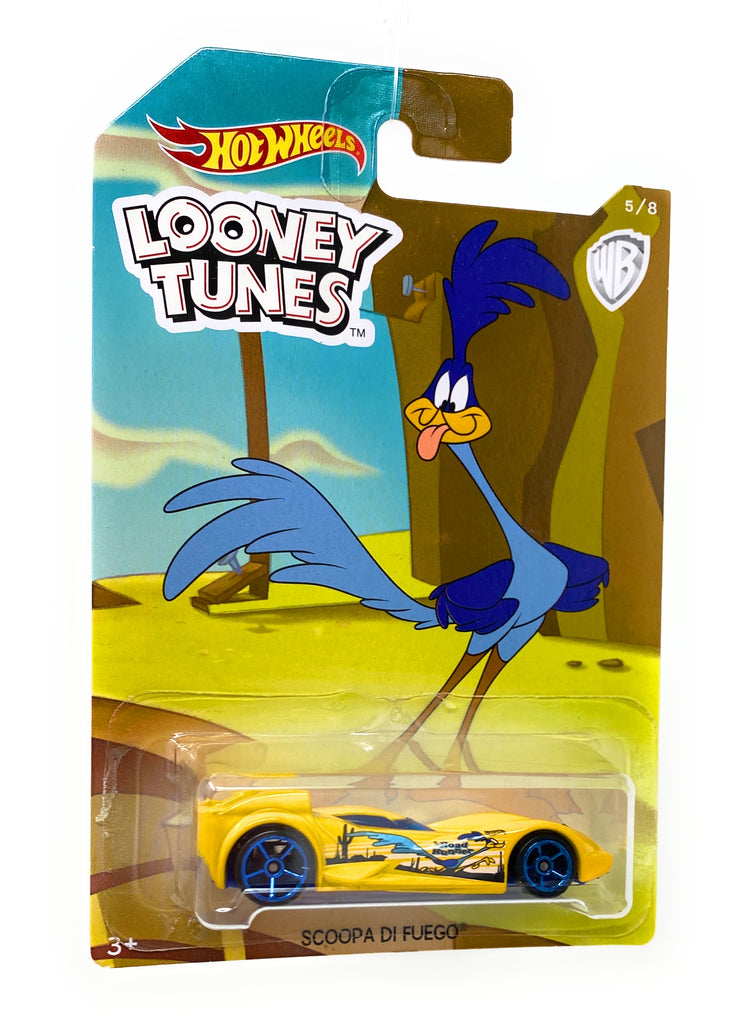 Hot Wheels Scoopa Di Fuego from the 2017 Looney Tunes set