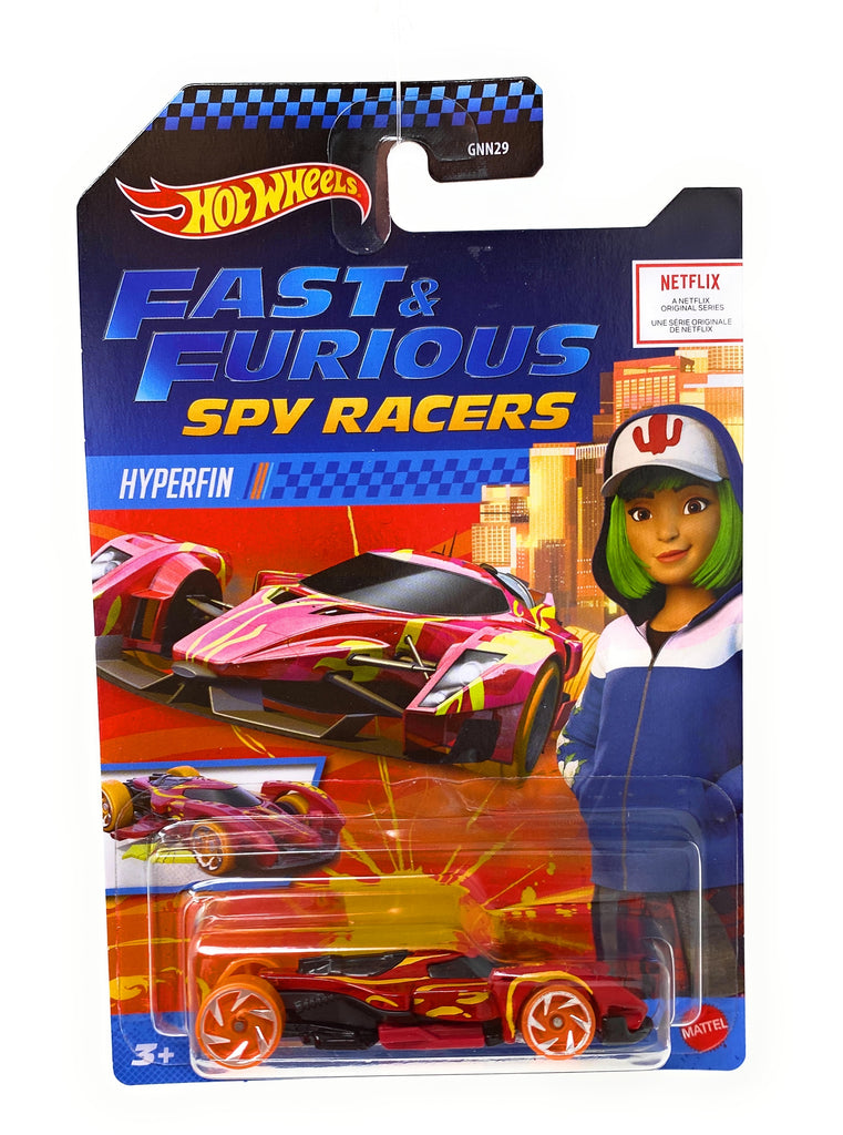 Hot Wheels Hyperfin from the Fast and Furious Spy Racers set