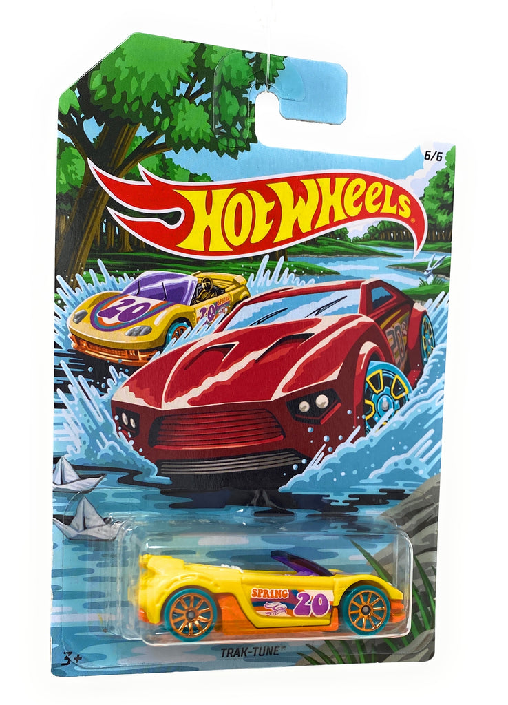 Hot Wheels Trak-Tune from the 2019 Holiday Hotrods set