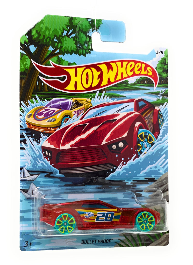 Hot Wheels Bullet Proof from the 2019 Holiday Hotrods set