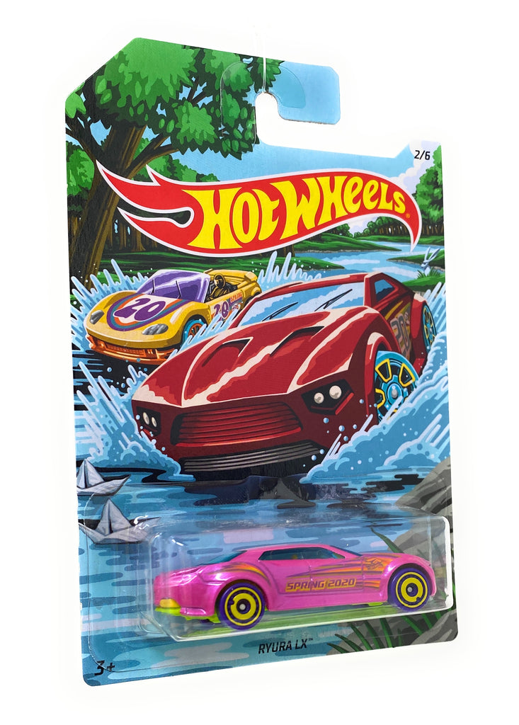 Hot Wheels Ryuran LX from the 2019 Holiday Hotrods set