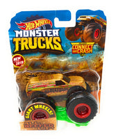 Hot Wheels Monster Trucks All Beefed Up, Giant wheels, including connect and crash car