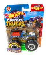 Hot Wheels Monster Trucks Haul Y'all, Giant wheels, including crushable car