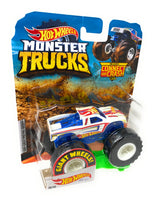 Hot Wheels Monster Trucks Hot Wheels, Giant wheels, including connect and crash car