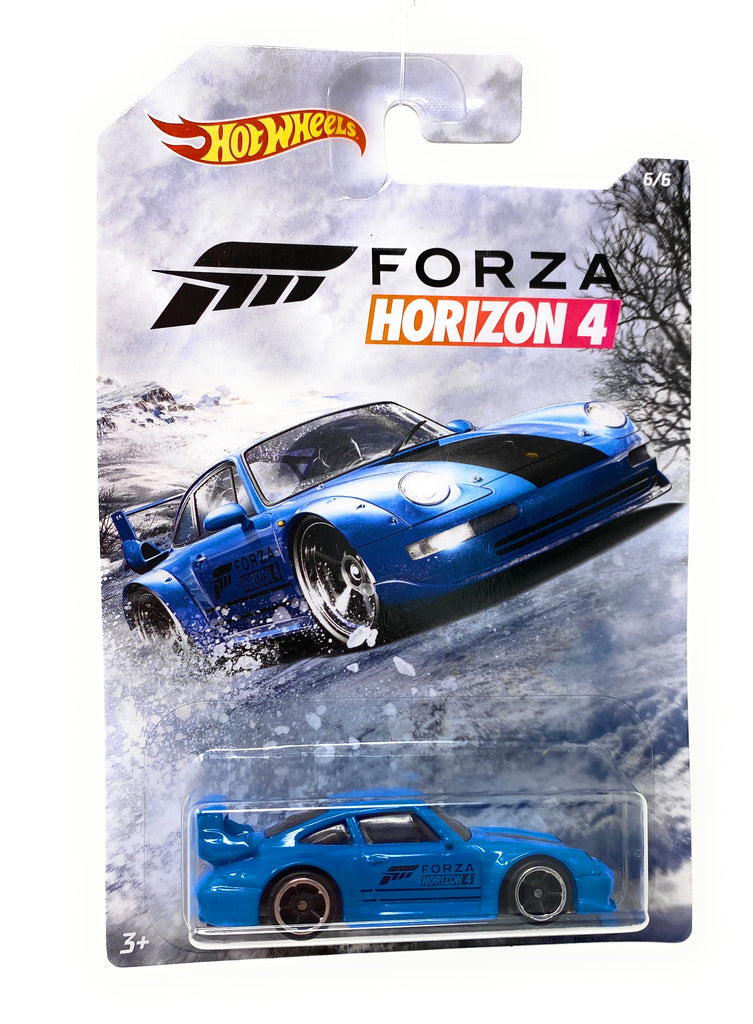 Hot Wheels Porsche 911 GT2 (993) from the Forza Horizon 4 set