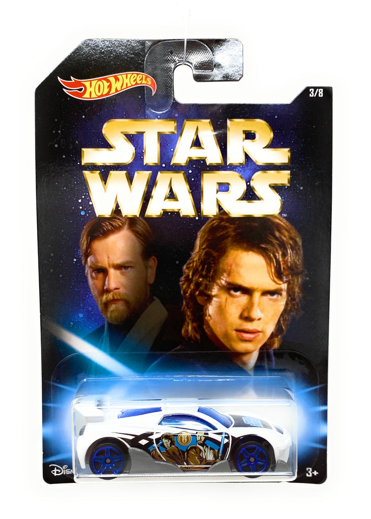 Hot Wheels MS-T Suzuka from the Star Wars Master and Apprentince set, 3/8