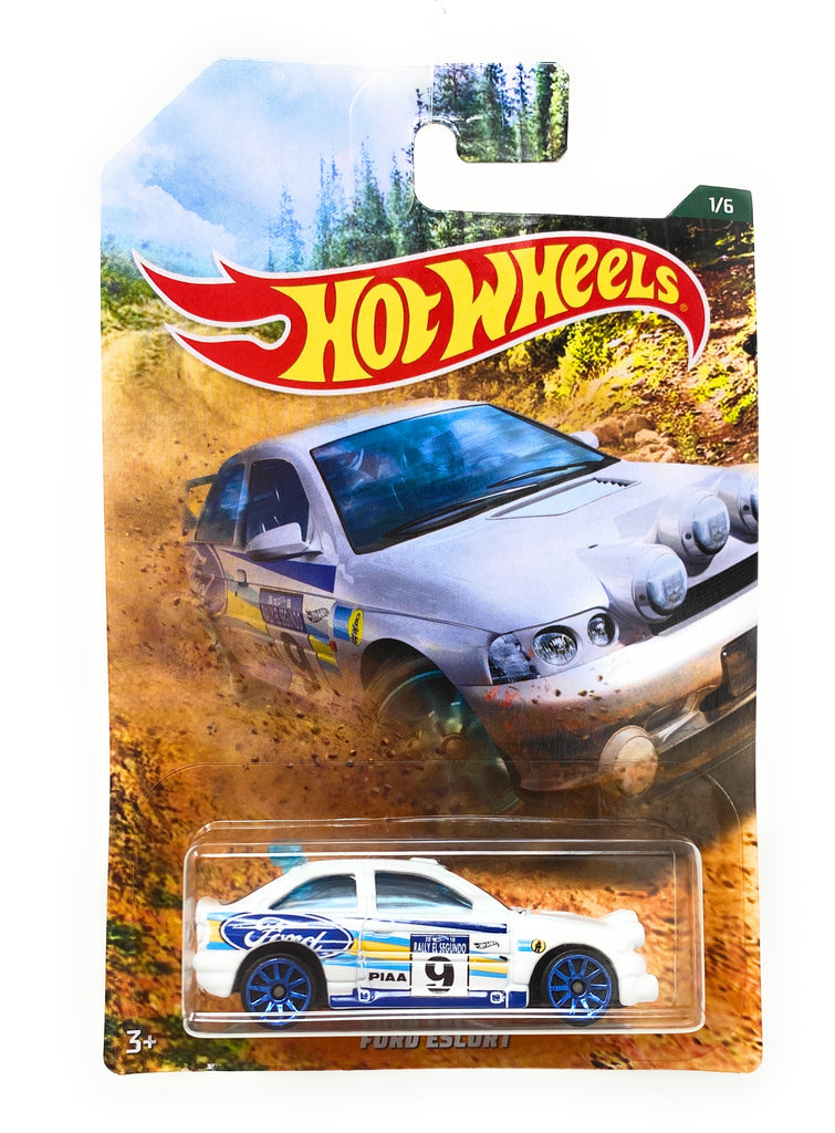 Hot Wheels Ford Escort from the 2019 Rally Series set, 1/6