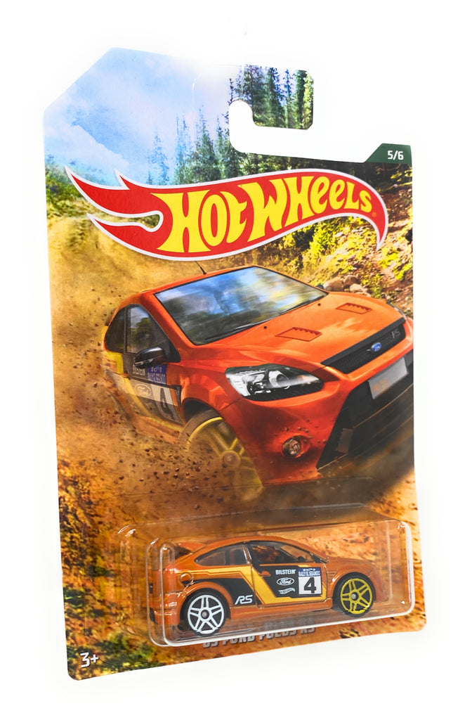 Hot Wheels '09 Ford Focus RS from the 2019 Rally Series set, 5/6