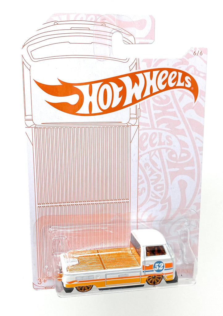Hot Wheels Volkswagen T2 Pickup from the 2019 Pearl and Chrome Collection 6/6