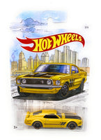 Hot Wheels '69 Ford Mustang Boss 302 from the 2019 Detroit Muscle Set, 3/6