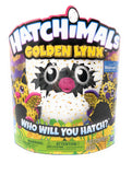 Hatchimal Walmart Exclusive Golden Lynx