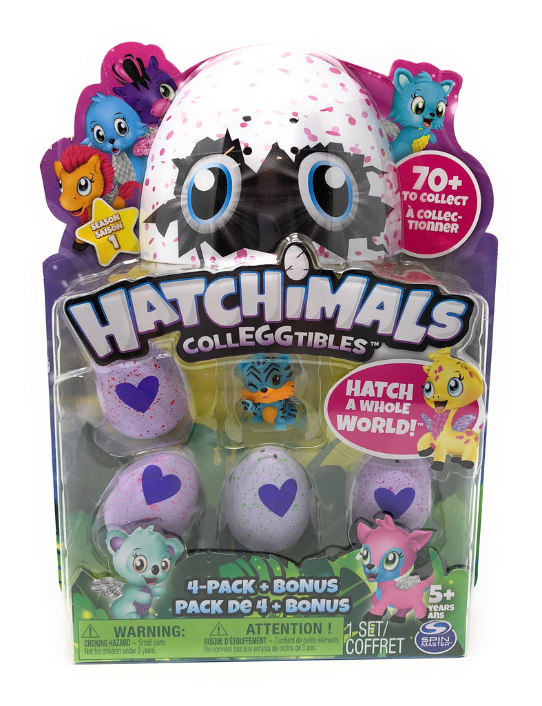 Hatchimal CollEGGtibles 4pk - S1