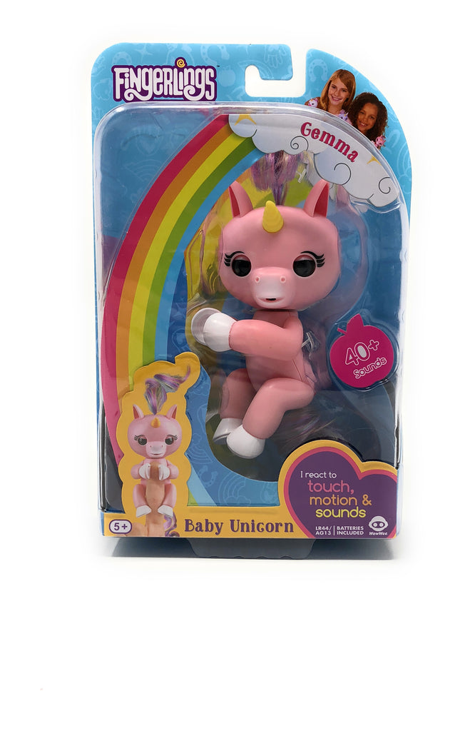 Fingerlings Unicorn Gemma (Pink & White)