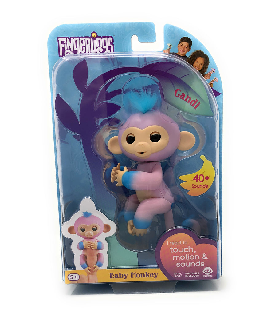 Fingerlings Candi (Ombre Pink & Blue)