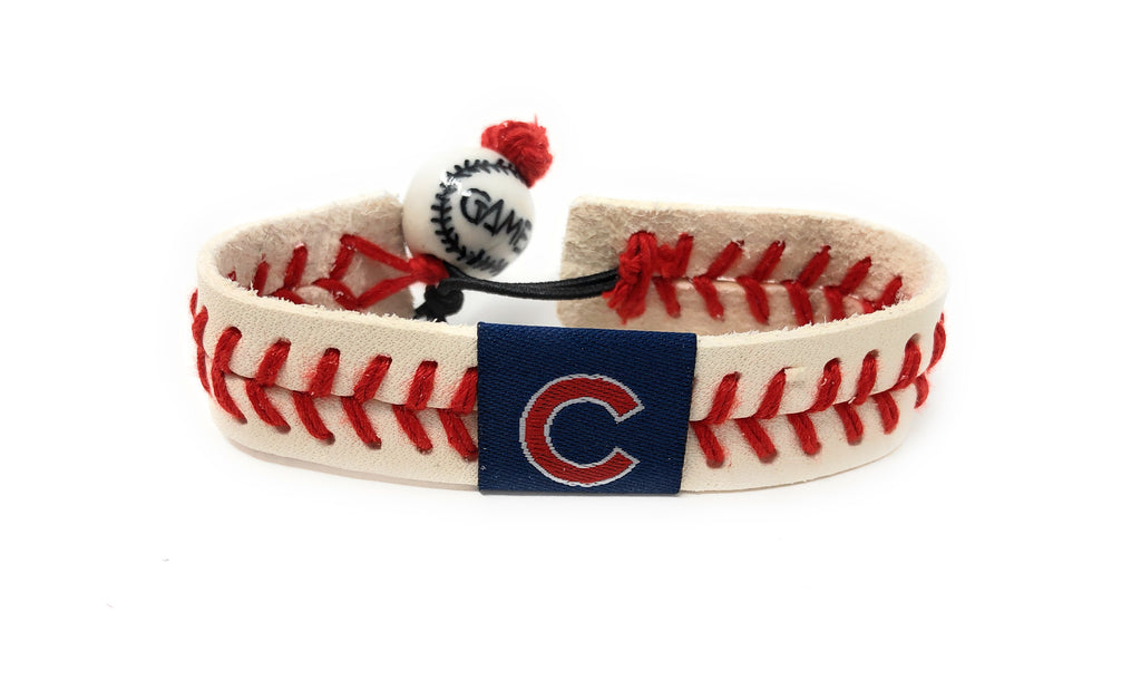 Chicago Cubs Baseball Seam Bracelet