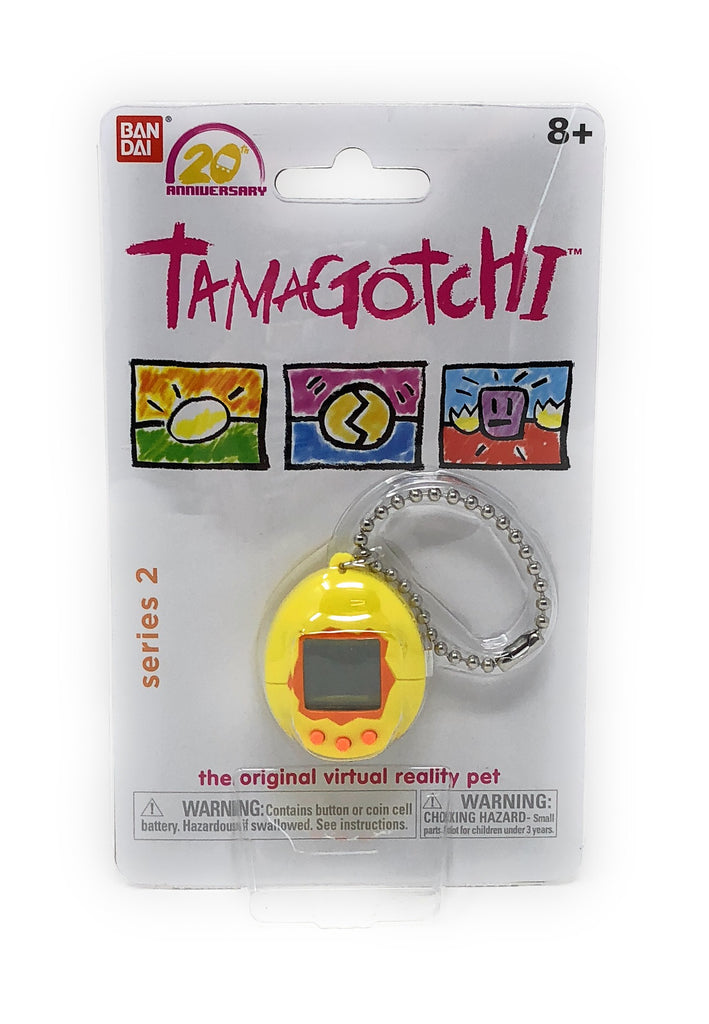 Tamagotchi Yellow Series 2- Interactive Toy