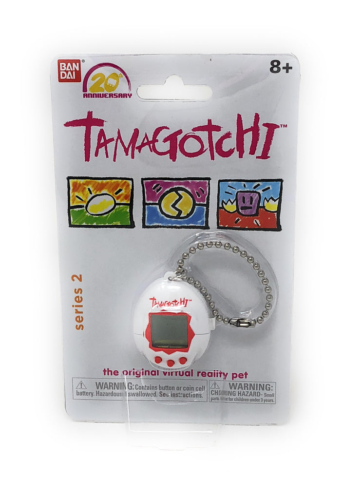 Tamagotchi White Series 2- Interactive Toy