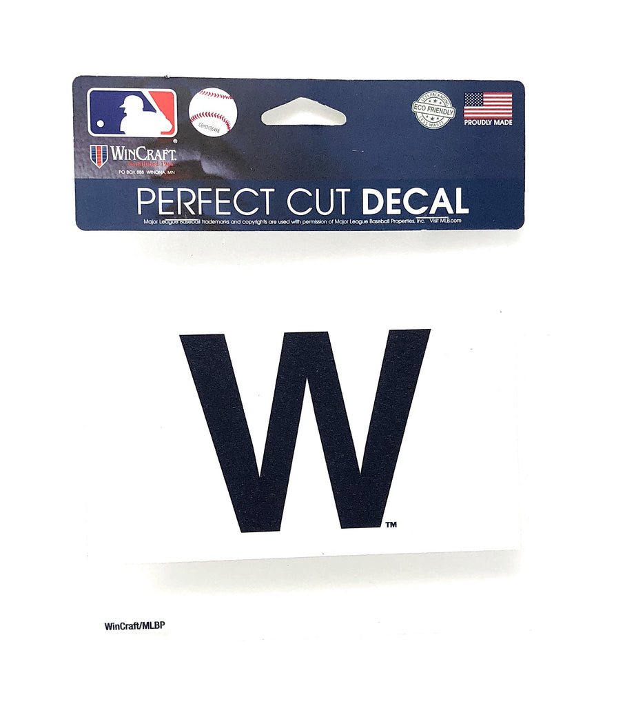 "Chicago Cubs MLB ""W"" Perfect Cut Decal"