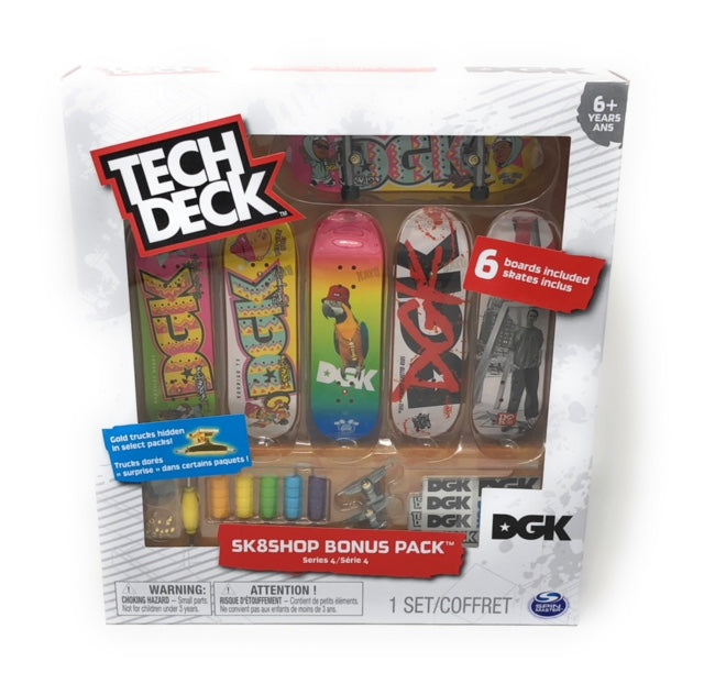 Tech Deck - Sk8Shop Bonus Pack - DGK