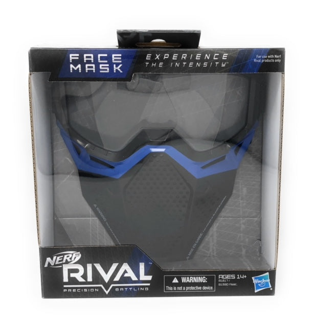 Nerf Rival Face Mask- Blue
