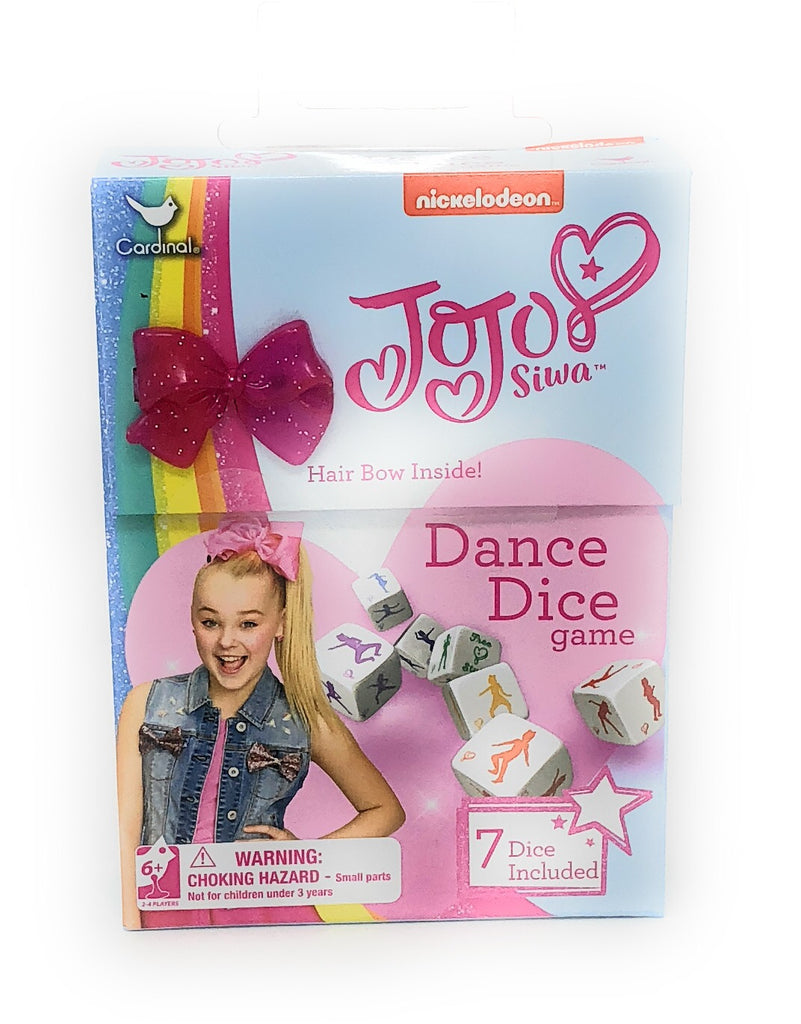 Jojo Siwa Dance Dice Game