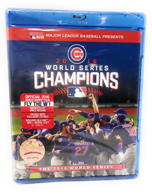 Chicago Cubs 2016 World Series Blue Ray DVD