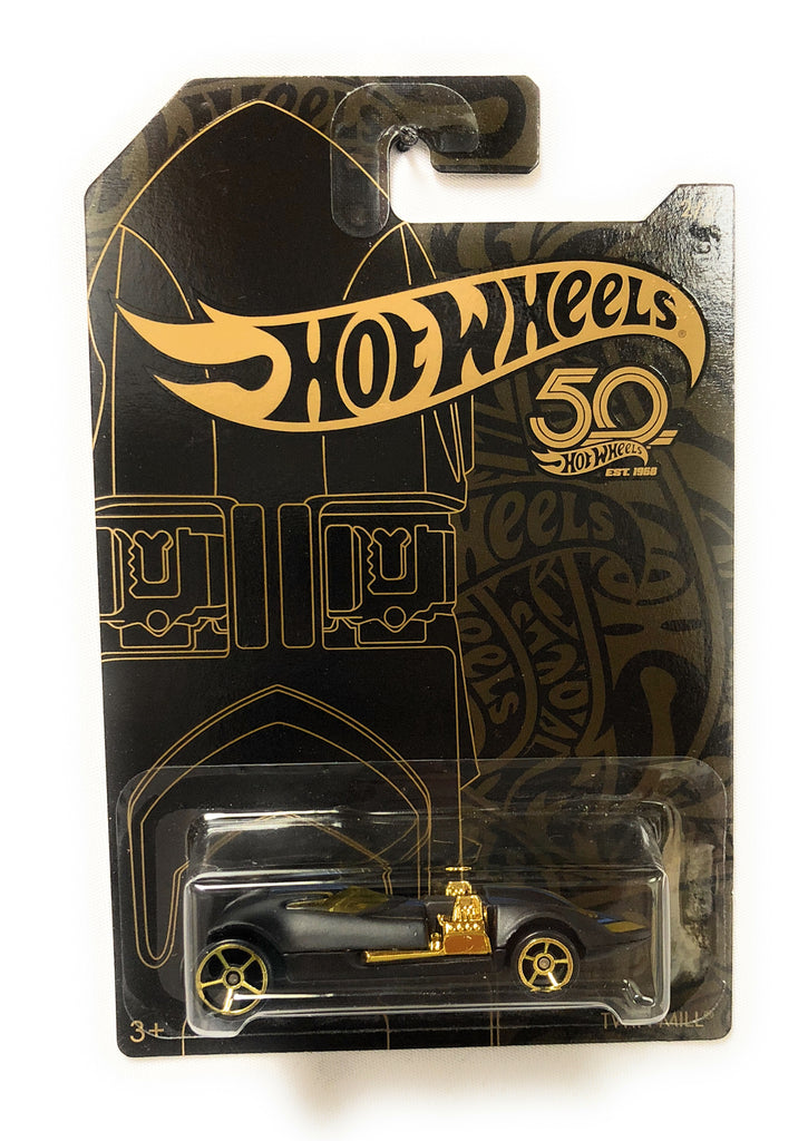 Hot Wheels Black & Gold 50th Anniversary Car 2/6 Twin Mill