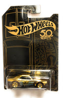 Hot Wheels Black & Gold 50th Anniversary Car LIMITED EDITION '67 Camaro