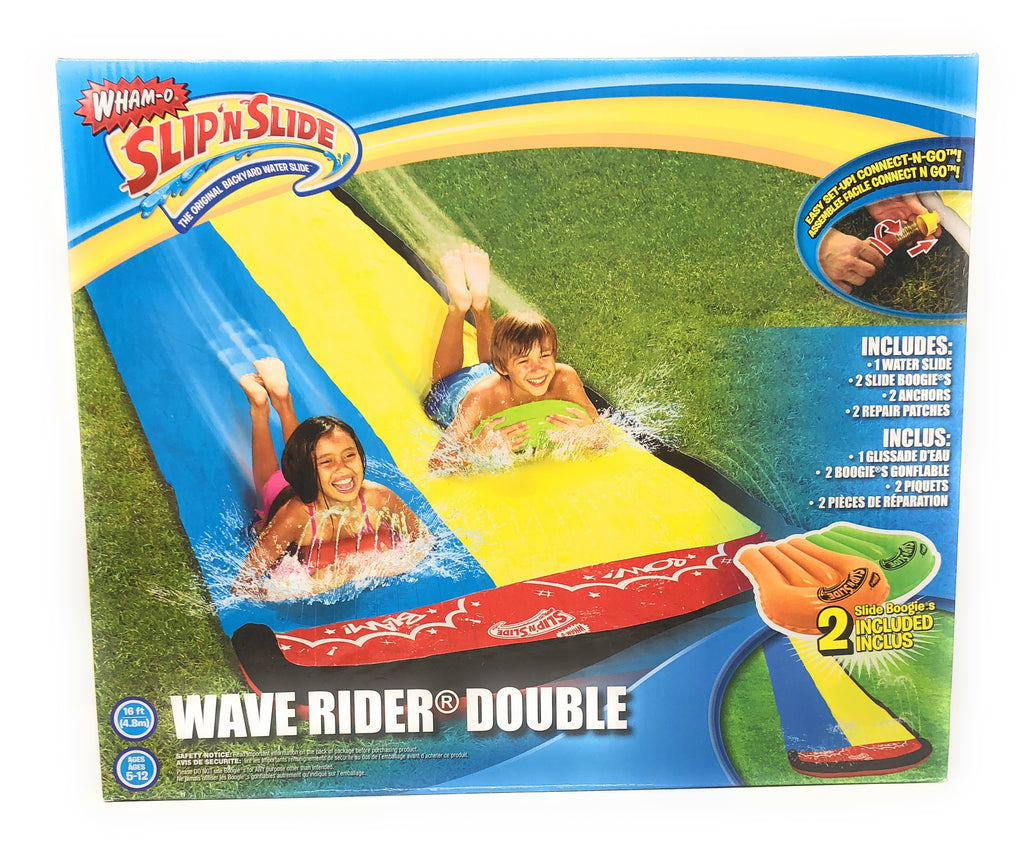 Slip 'n Slide Wave Rider Double with 2 Boogies