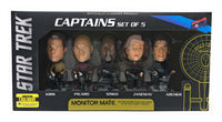 Star Trek Captains Set Of 5 Monitor Mate
