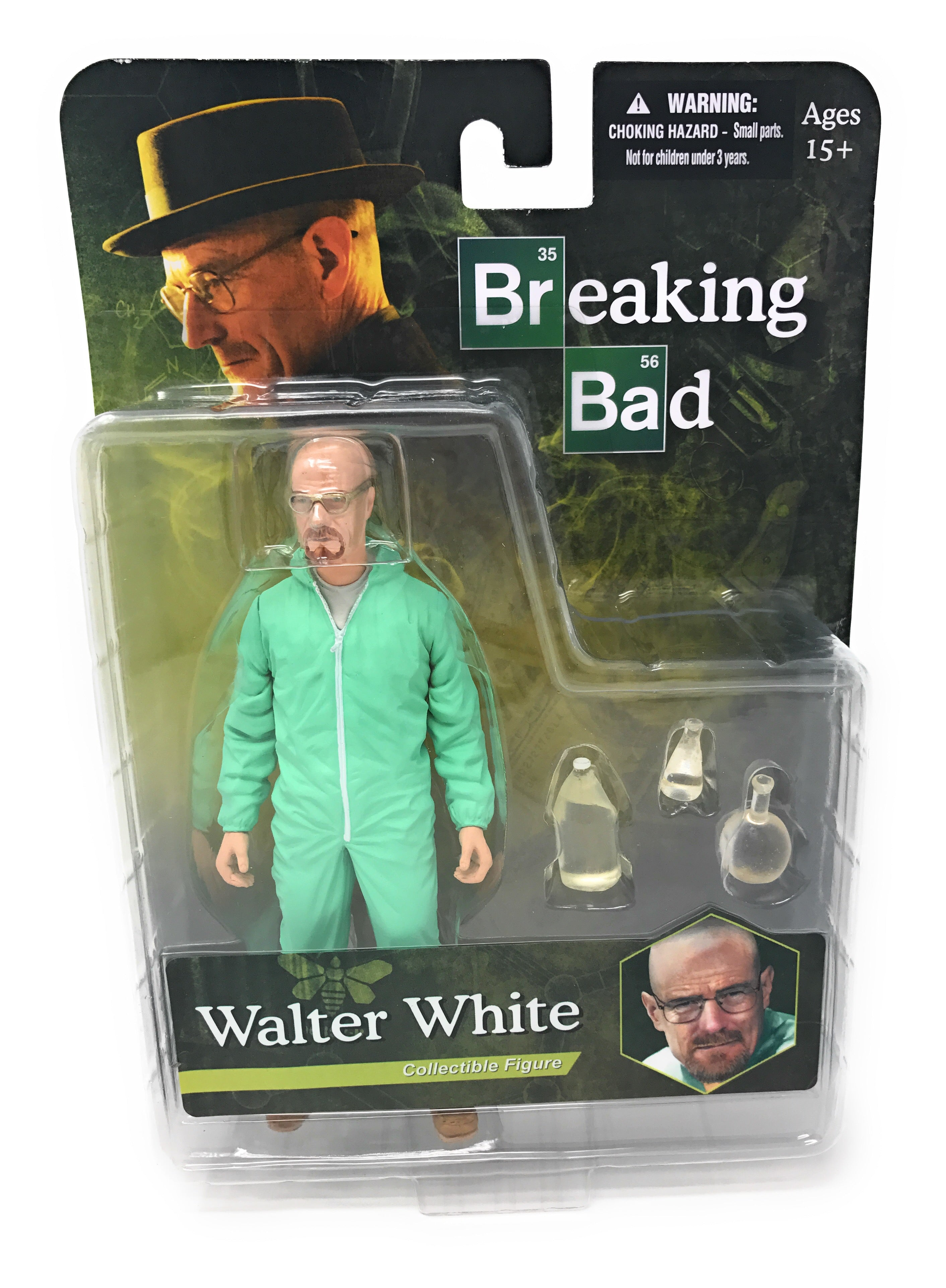 Breaking Bad-Walter White Action Figure White Hazmat Suit