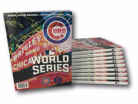 Chicago Cubs 2016 World Series Program