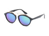 E20 - Modern Browbar Keyhole Bridge Round Sunglasses - Iris Fashion Inc. | Wholesale Sunglasses and Glasses