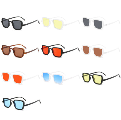 Classic Square Retro Vintage Unisex Fashion Sunglasses