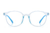 HK1005 - Kids Circle Round Junior Blue Light Blocker Glasses
