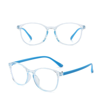 HK1007 - Kids Round Junior Blue Light Blocker Glasses