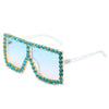 57055 - Women Large Oversize Rhinestone Fashion Sunglasses