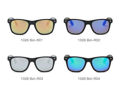 S1028 - Classic Square Mirrored Sunglasses - Iris Fashion Inc. | Wholesale Sunglasses and Glasses