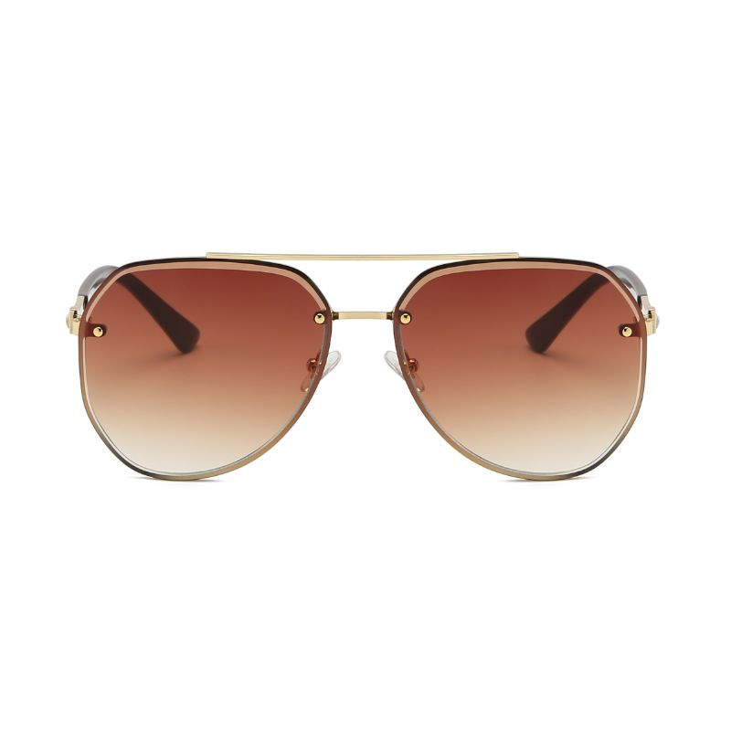 58140 - Classic Anti-Reflective Aviator Fashion Sunglasses