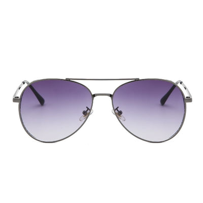 58117 - Classic Metal Aviator Fashion Sunglasses