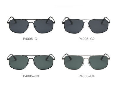 P4005 - Men Sports Polarized Rectangular Sunglasses - Iris Fashion Inc. | Wholesale Sunglasses and Glasses