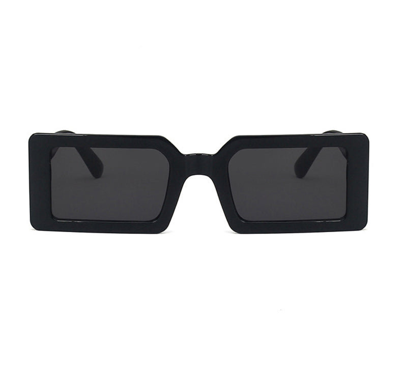 H1019 - Classic Rectangular Retro Vintage Fashion Sunglasses