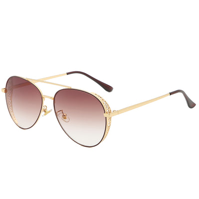 58117 - Classic Metal Aviator Fashion Sunglasses - Iris Fashion Inc. | Wholesale Sunglasses and Glasses