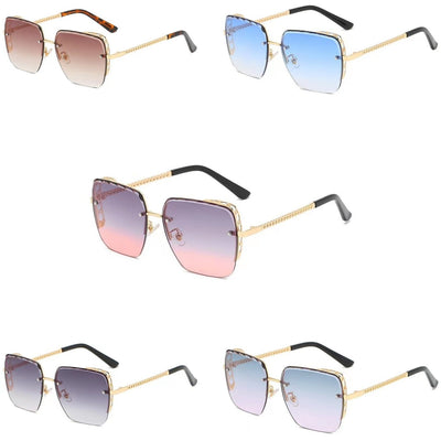 58160 - Women Flat Top Square Anti-Reflective Tinted Fashion Sunglasses - Iris Fashion Inc. | Wholesale Sunglasses and Glasses